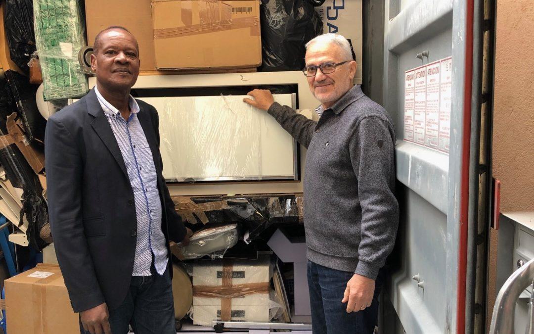 GENEVE – LOME Container pour la Clinique Chardon bleu
