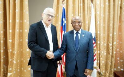 Visite au Libéria