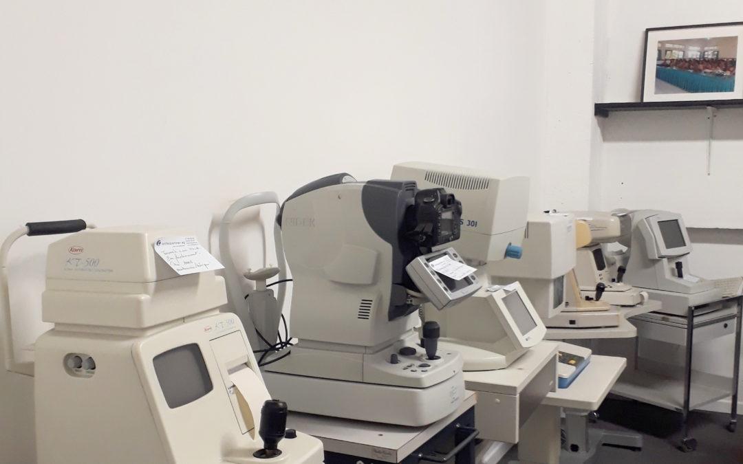 Notre parc d'appareils ophtalmologiques se renouvelle